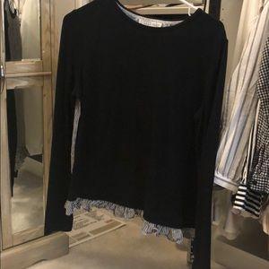 Kate spade black blouse